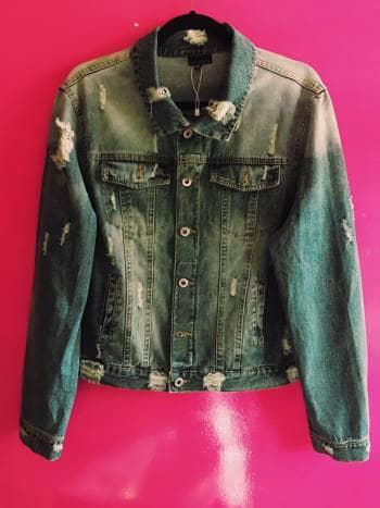 Jacket mezclilla bordada