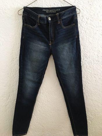 Jeans de Tiro Alto AEO