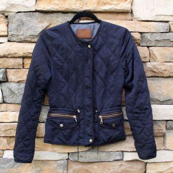 Chamarra Azul marca Zara
