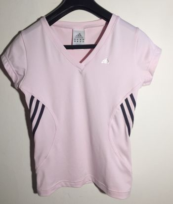 Blusa adidas rosa talla S