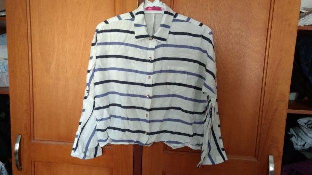 PROMO 2x1 Camisa crop manga 3/4