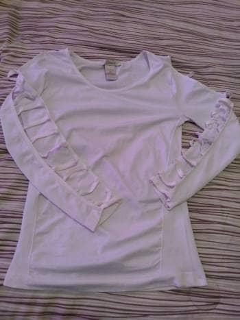 Blusa blanca licra