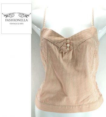 Blusa de tirantes rayada - Fashionella -