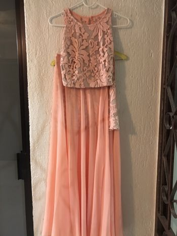 Vestido falda/croptop