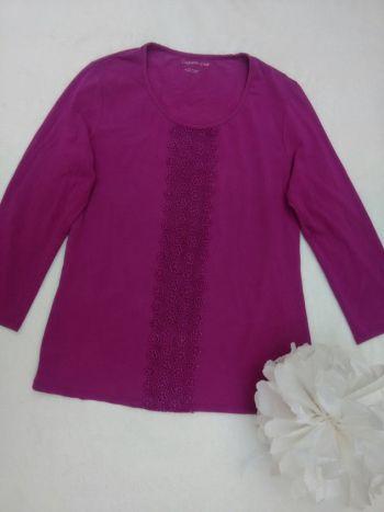 2x1 -Blusa manga larga con bordado
