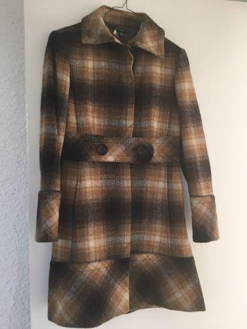 Abrigo de lana corte A