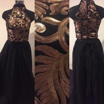 Vestido falda top