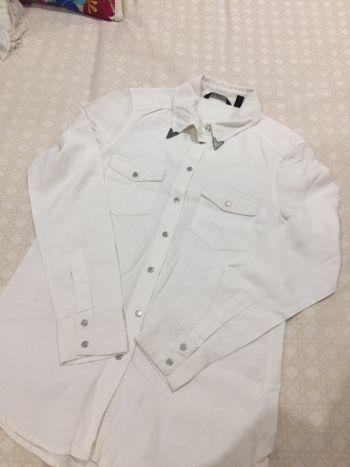 Camisa cruda ranchera