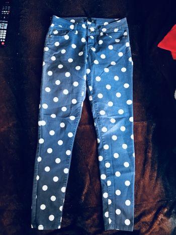 Pantalon polka dots Forever21