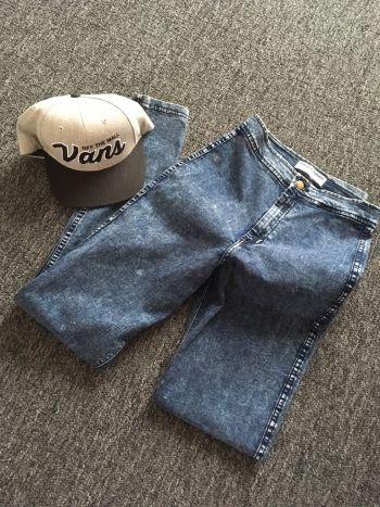 Acid wash high waisted jeans *regalo envio*