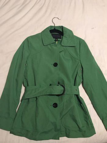 Abrigo verde limon