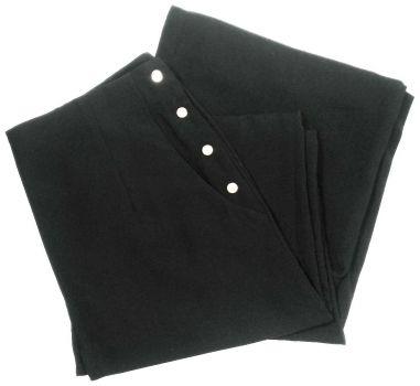 Pantalón wide leg con broches - Fashionella -
