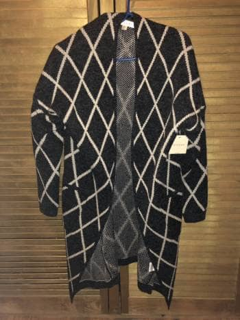 Sweater holgado y largo