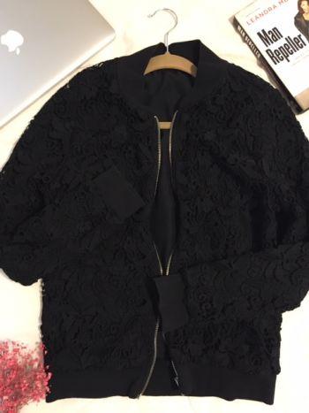 Zara Guipure lace jacket