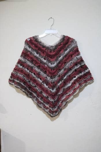 Poncho Tejido Crochet Gotrendier 733373