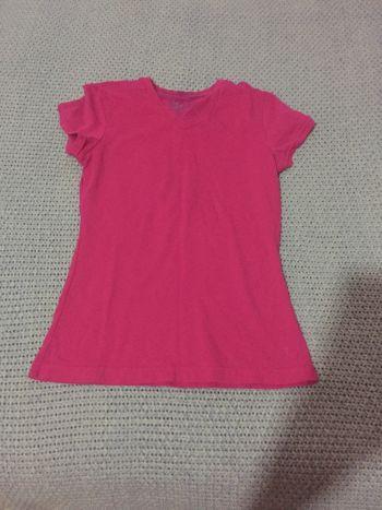 PROMO 2x1 Camisa  de cuello v rosa