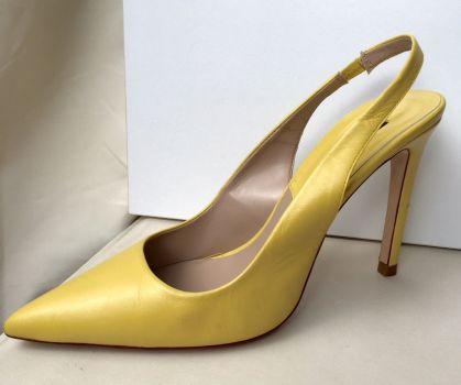 Zapatillas Zara amarillas