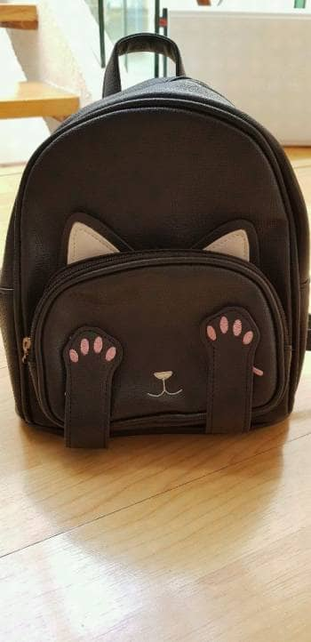Mini backpack gatito
