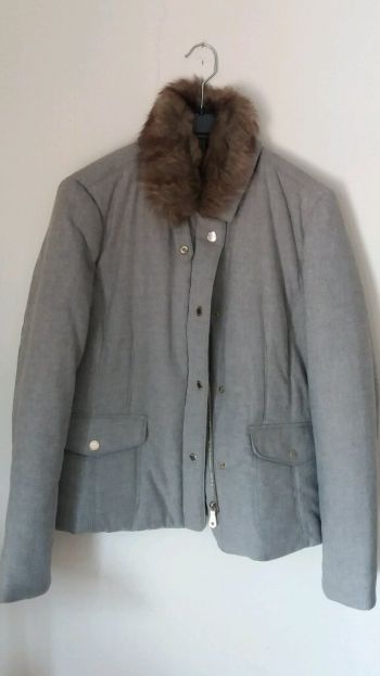 Chamarra de lana Massimo Dutti