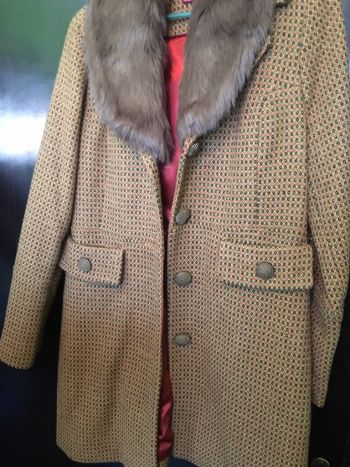 Abrigo nuevo merona