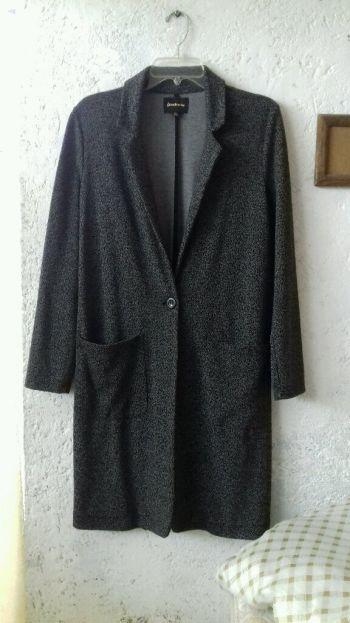Abrigo largo gris último precio $$