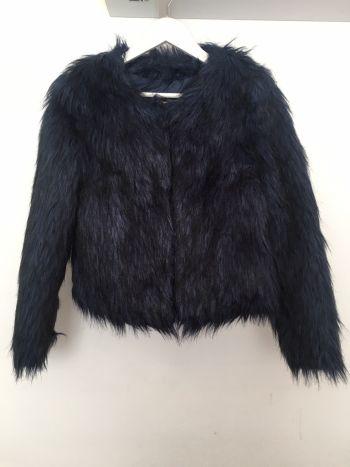 Abrigo corto de pelo