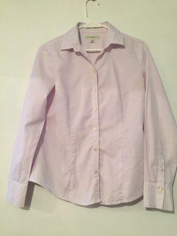 Camisa cuadrito lila