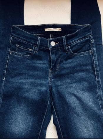 Pantalón 710 Super Skinny  Azul Marino - 24X30