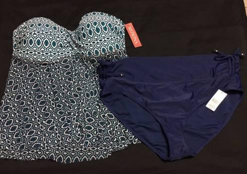 Tankini y Bikini Merona/Tropical Escape