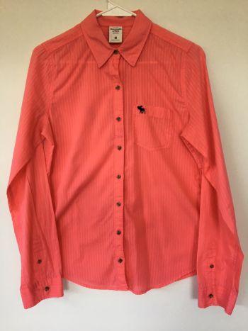 Camisa coral Abercrombie