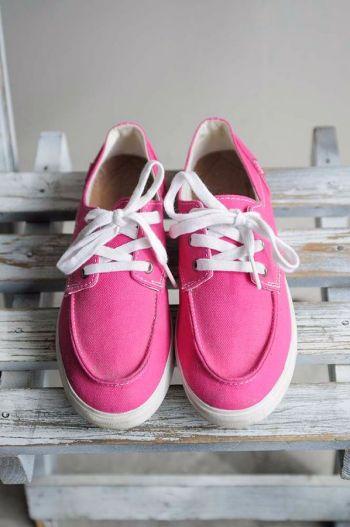 Zapatos con agujeta