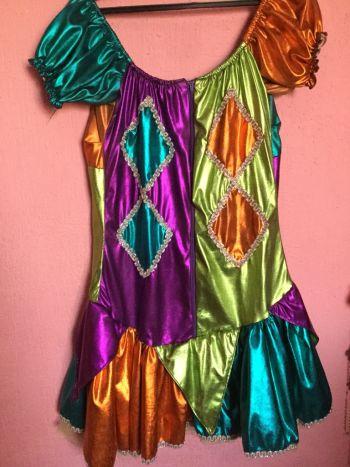 Disfraz de arlequin mujer