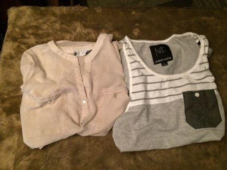 2 blusas super frescas
