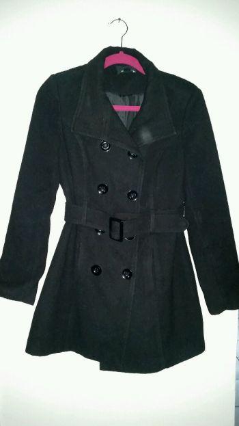 Abrigo negro forever