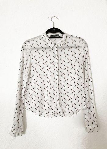 Camisa estampada MANGO