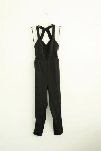 Jumpsuit negro largo