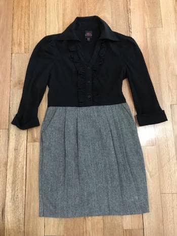 a3d9e231e8 Vestido formal bebe estilo blusa con falda - GoTrendier - 642805