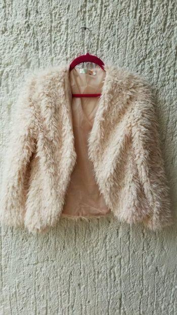 Fur jacket.