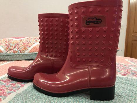 Botas de Lluvia Rojas Storm  Rain Fashion