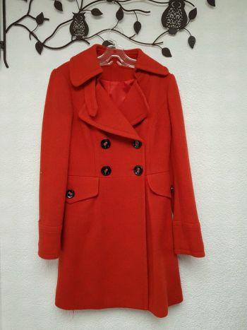 Abrigo Elegante Rojo
