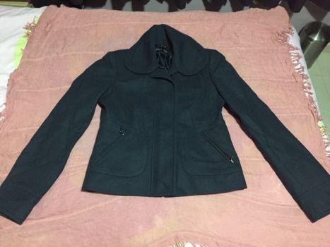 Abrigo corto azul marino