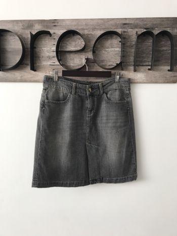 Mini falda mezclilla vintage zara