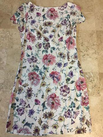 Vestido Zara print flores