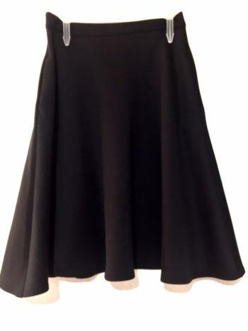 Falda midi circular