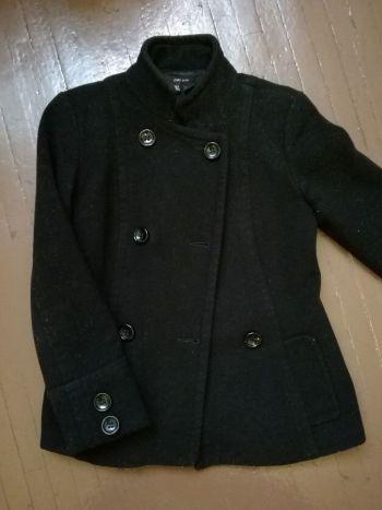 Abrigo negro basico