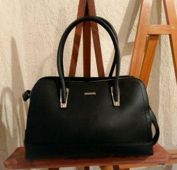 Elegante bolsa negra