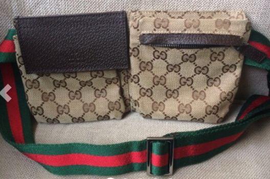Cangurera Gucci nueva 100% original - GoTrendier - 170095 6d7fdfe81f2