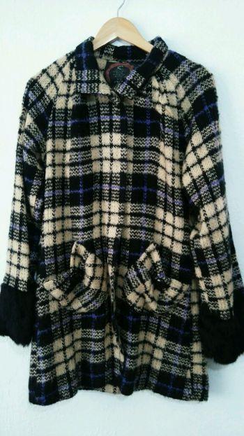 Abrigo fino de lana