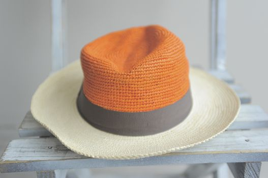 Sombrero bicolor