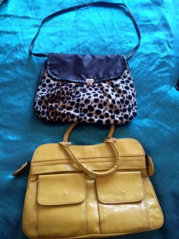 2 bolsas hermosas